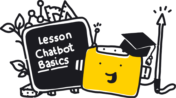 Learn more about chat bots - illustration