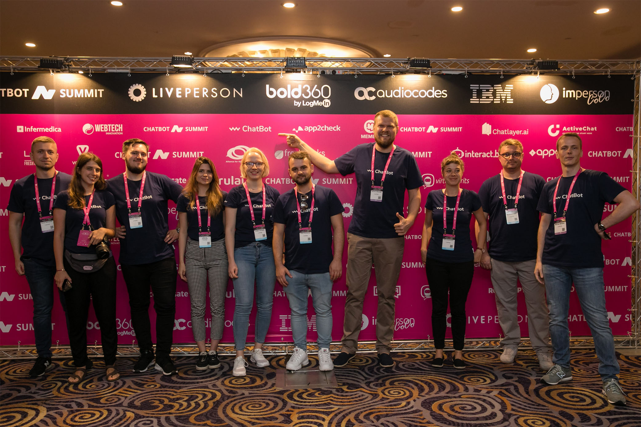 ChatBot.com team at Chatbot Summit 2019