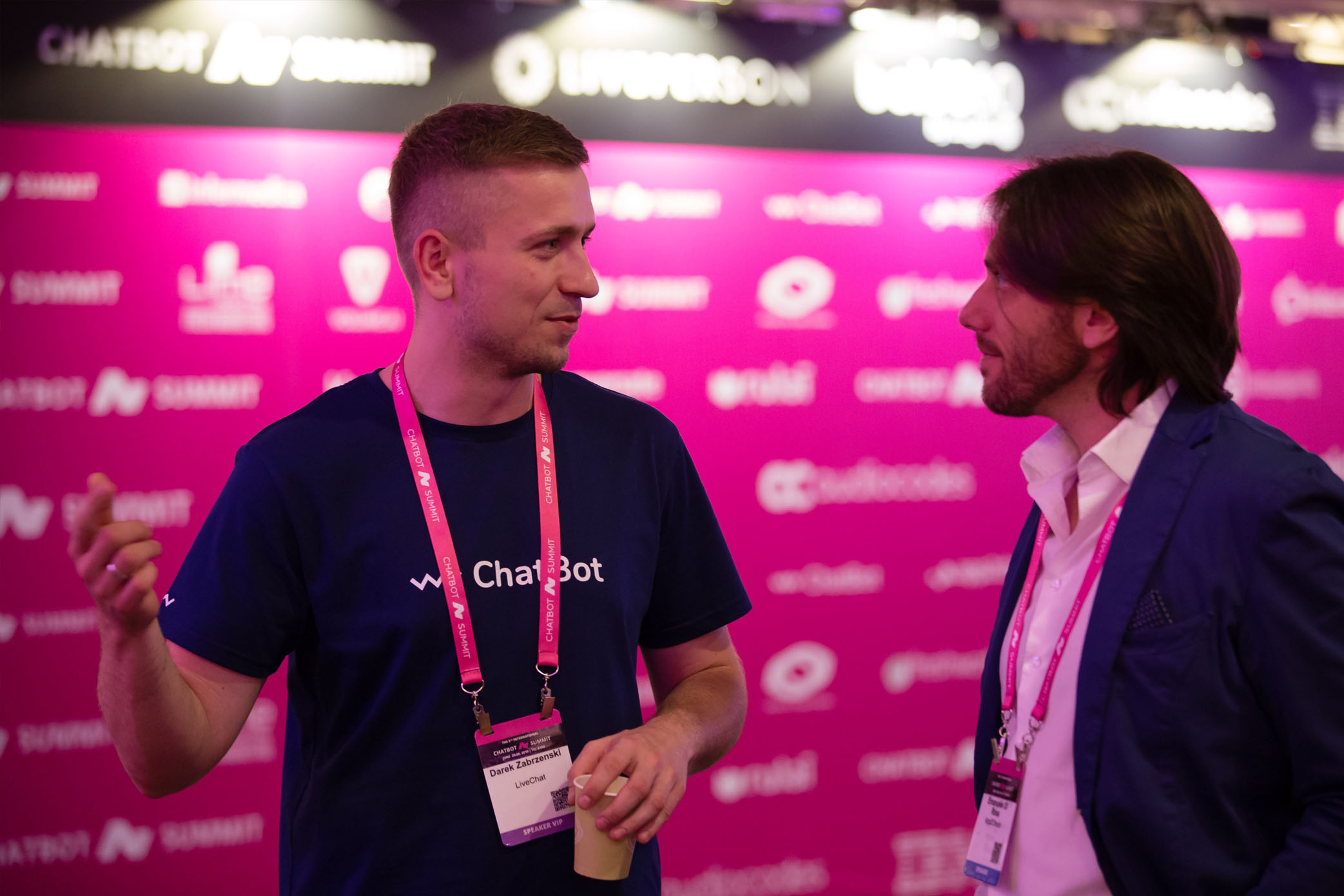 Darek Zabrzeński from ChatBot.com at Chatbot Summit 2019