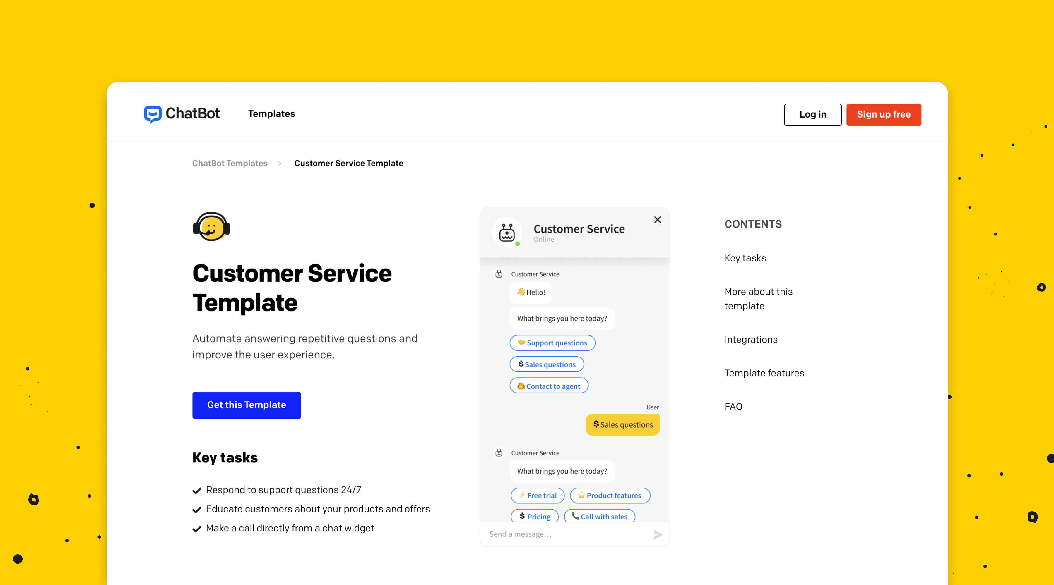 Customer Satisfaction Template
