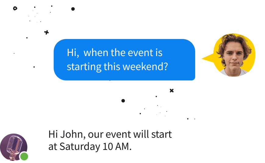 Personalized experience with Chat Bot for Messenger
