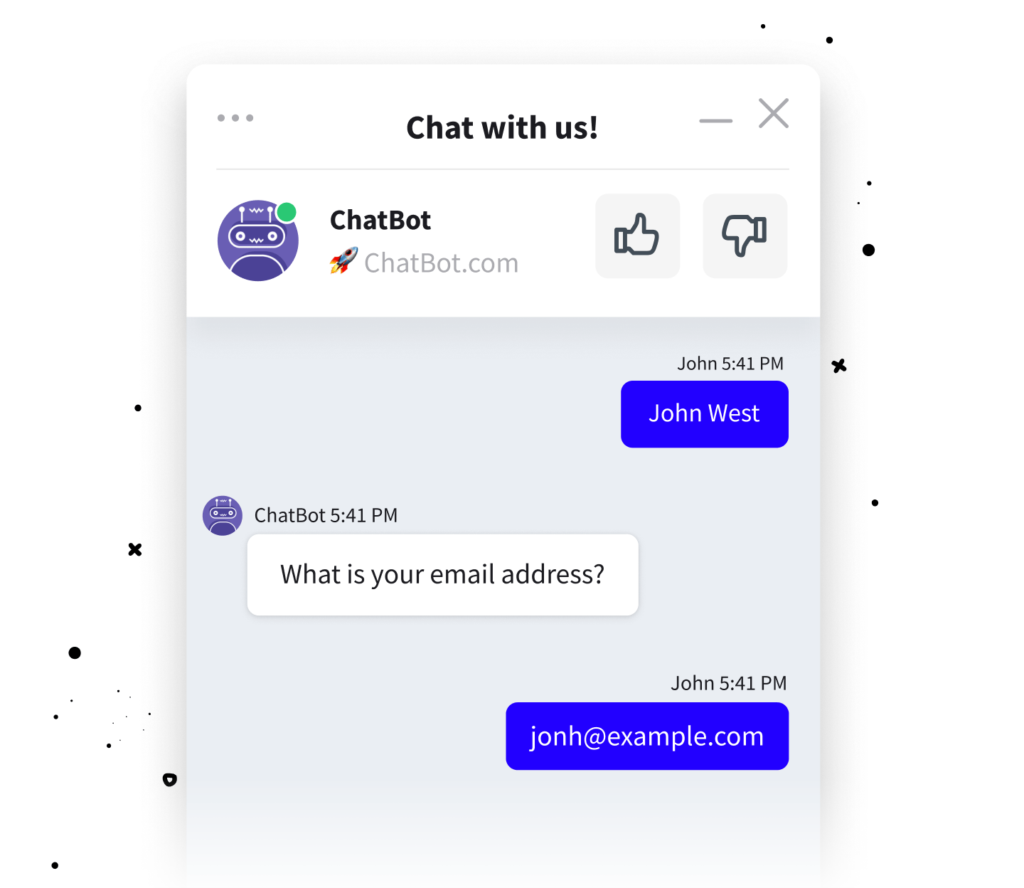 Lead generation chat bot for LiveChat integration