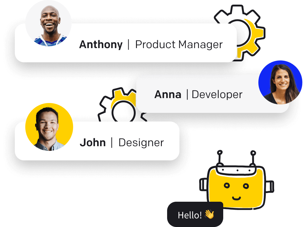 Cooperation feature in ChatBot - work together with your team