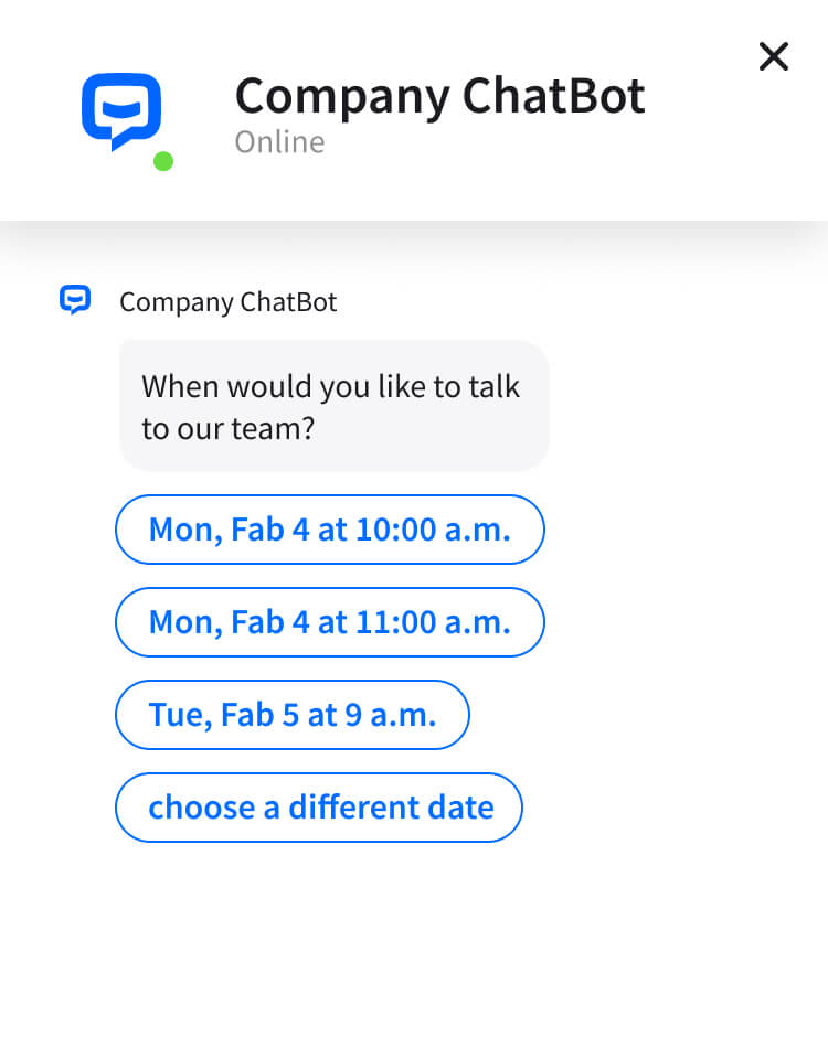 Conversational AI to qualify sales leads